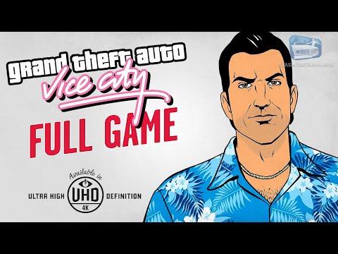 GTA Vice City - Full Game Walkthrough in 4K