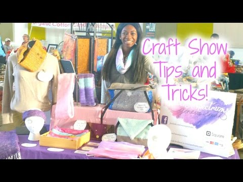 Craft Show Tips and Tricks!