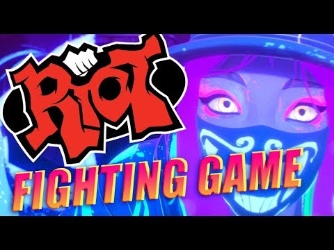 RIOT GAMES ANNOUNCES FIGHTING GAME @ Evo