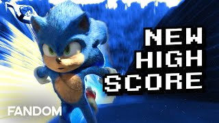 Sonic Sets New Video Game Movie Record   Charting with Dan!