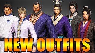 Dynasty Warriors 9 New Informal Outfits: Xu Huang, Guo Jia, Sima Yi, Jia Chong and more - 真・三國無双8