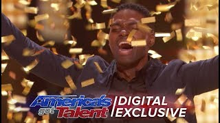 Singer Johnny Manuel Relives His Golden Buzzer Moment - America's Got Talent 2017