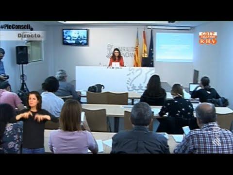 Roda de Premsa del Ple del Consell - Divendres 21 de setembre