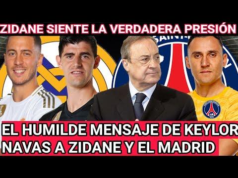 KEYLOR NAVAS da lección de humildad: ZIDANE, FLORENTINO y HAZARD 'señalados' tras derrota ante PSG