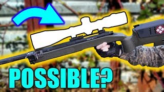 SNIPING with NO SCOPE!  [Making IMPOSSIBLE Shots]