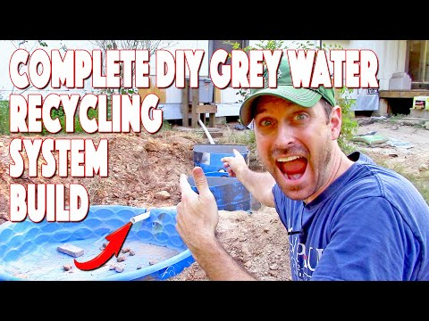 Complete Grey Water System Build | DIY Recycling Septic Save
