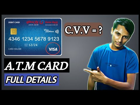 How to find CVV number on debit card   cvv क्या है   2020 new update