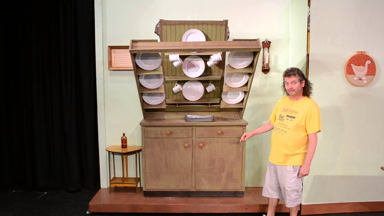 Mary Poppins The Musical By Stage Crafters   Banksu0027 Kitchen Scene   Design/Built By Jerry Schauer