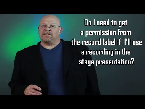 Entertainment Law Asked & Answered - Grand Rights and Sound Recordings?