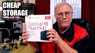 6 TB Storage Cheap! Seagate Backup Plus Hub Overview