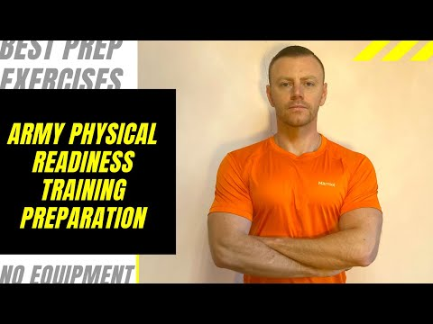 ARMY PHYSICAL READINESS TRAINING PREPARATION For Workout Video