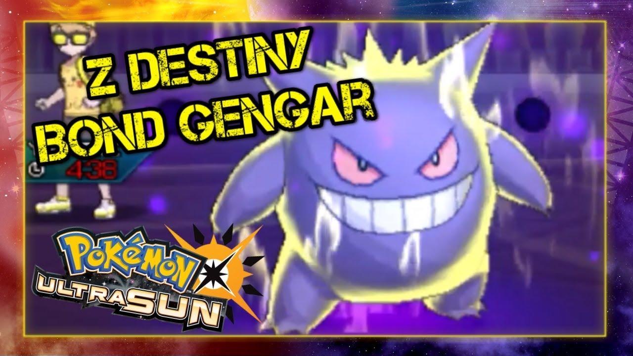 Pokemon Ultra Sun and Moon VGC 2018 Battle - Z Destiny Bond Gengar