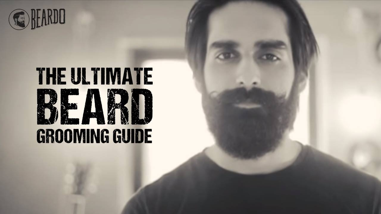 the ultimate beard grooming guide by beardo youtube. Black Bedroom Furniture Sets. Home Design Ideas