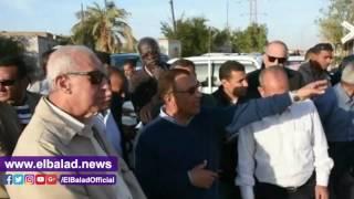 بالفيديو.. محافظ أسوان يتفقد مستعمرة السد العالى شرق