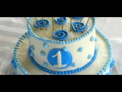 1st birthday cake boy YouTube