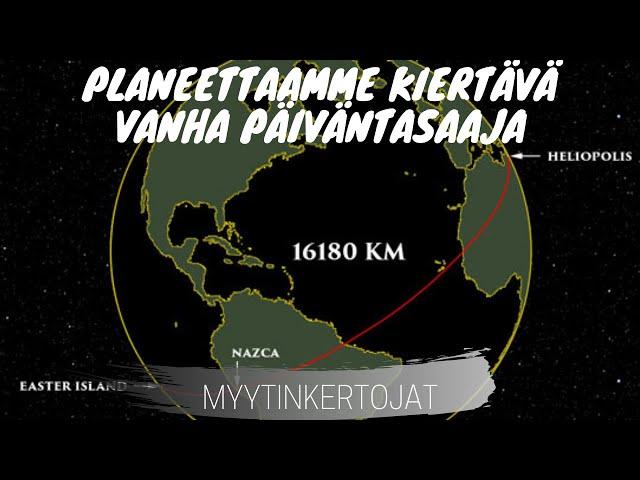 Planeettaamme kiertävä vanha päiväntasaaja