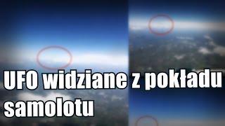 Kolejne UFO wUSA zaobserwowane zpokładu samolotu
