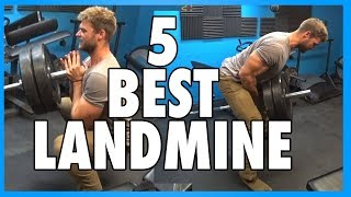 5 Best Landmine Press Exercises