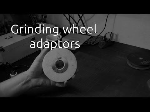 Grinding wheel adaptors - Part 1