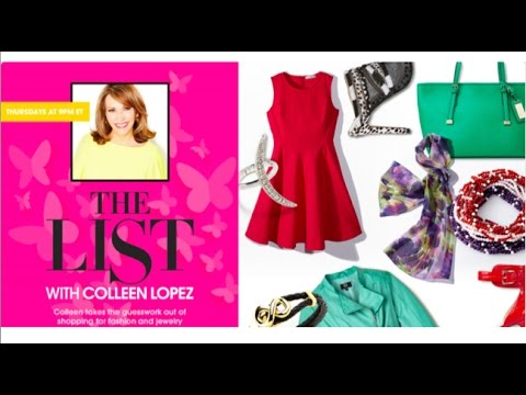 HSN | The List with Colleen Lopez 01.07.2016 - 10 PM