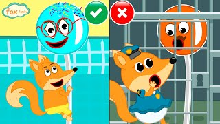 The Fox Family and friends talking sweets with patrol mission - cartoon for kids new episodes #890