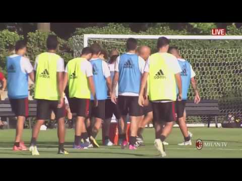 Milan Raduno 2017 - First training session of season 2017/2018