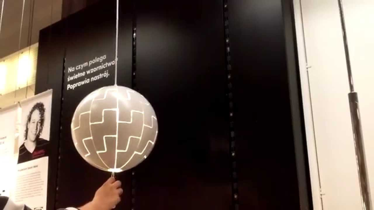 Lampa IKEA PS 2014 - YouTube