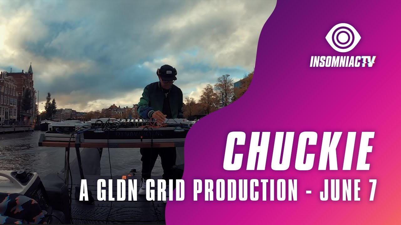 Chuckie from Amsterdam Canals for A GLDN GRID Production (June 7, 2021)