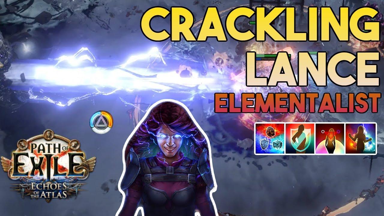 Download [3.14] Crackling Lance Build | Elementalist | Ultimatum | Path of Exile 3.14