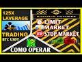 Como usar binance futures para hacer trading (LIMIT, MARKET Y STOP MARKET)