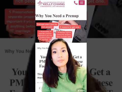 Why you need a prenup