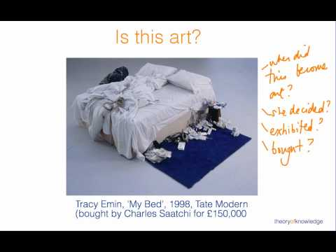 Theory of Knowledge Art: what is art?