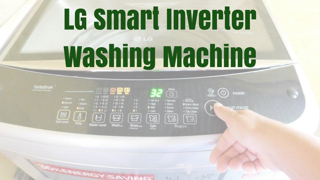 LG Smart Inverter Washing Machine Review