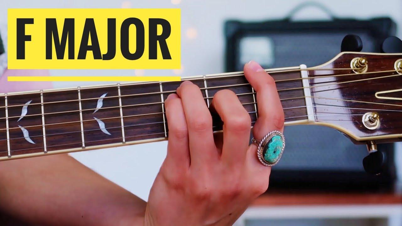 F major chord   15 ways   Beginner Guitar Lesson