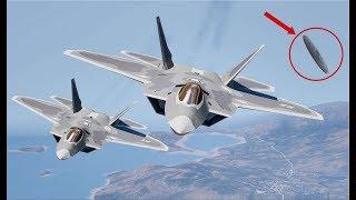 Мы бессильны против них! НЛО уничтoжил два истребителя ВВС США