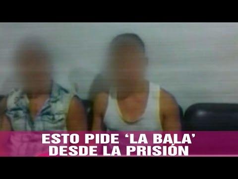 La bala se comunica con su familia desde la prisión - Jarabe de Pico