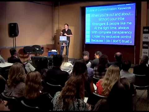 The Future of Communication: Futurist Gerd Leonhard Talk at NBS Sao Paulo