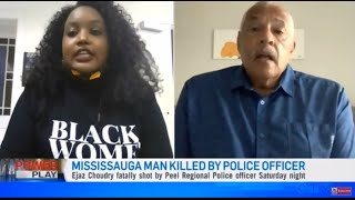 BLM Sarah Jama Clashes w/ Calvin Lawrence (FRM RCMP Cop) On Panel Discussion To Defund The Police