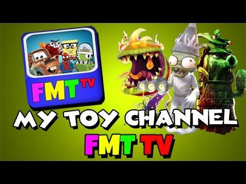 my toy channel fmt tv plants vs zombies garden. Black Bedroom Furniture Sets. Home Design Ideas