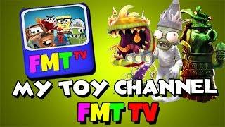 My Toy Channel: FMT TV - Plants Vs. Zombies: Garden Warfare