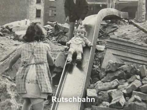 The Ruins of Cologne - (Köln) after the 2nd World War