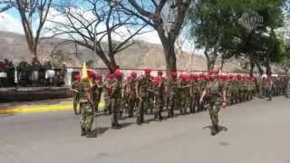 Paracaidistas rinden honor al Comandante a dos años de su partida