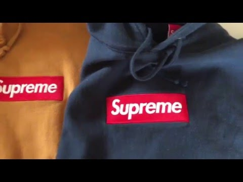Supreme Box Logo Hoodie Real Vs Fake Comparison How To Tell Apart Tutorial