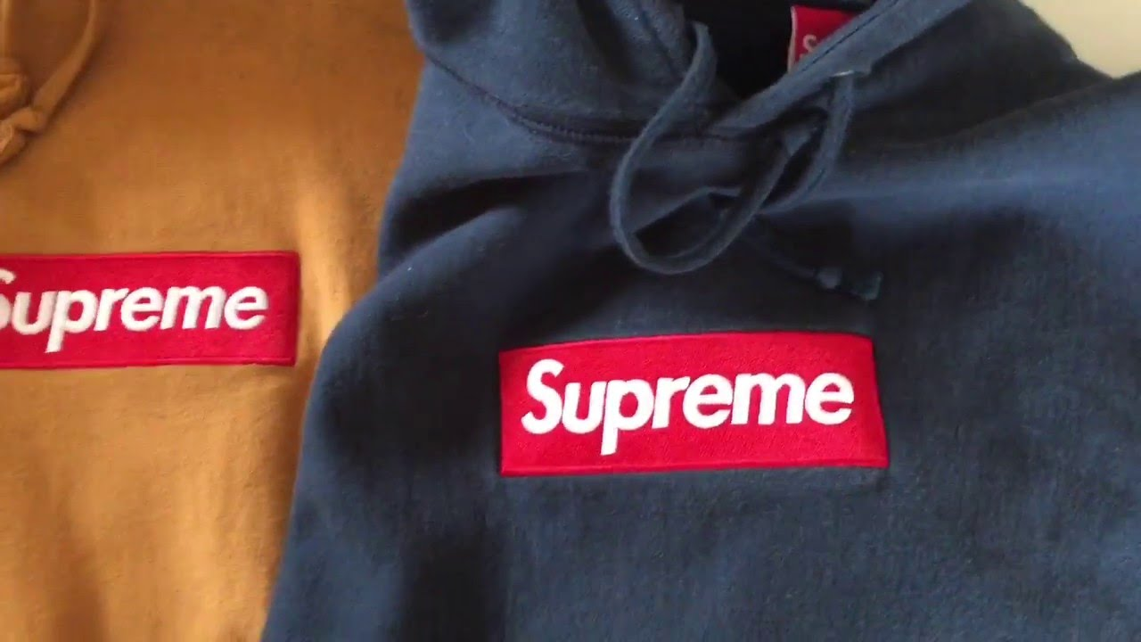 Supreme Box Logo Hoo Real Vs Fake Comparison How To Tell Apart Tutorial You