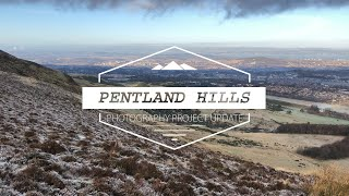 A day out in the Pentland Hills - Photography Project