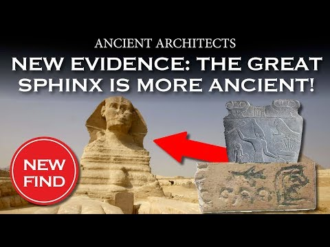 The Great Sphinx of Egypt in the First Dynasty | Ancient Architects