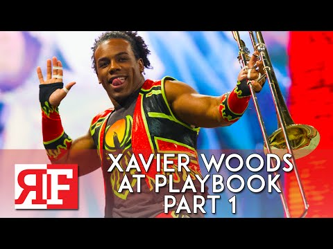 Xavier Woods at Playbook