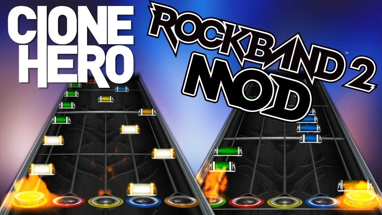Rock Band 2 Notes (MOD For Clone Hero v0 21 6)