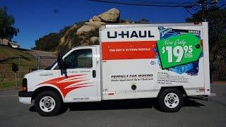 U Haul Truck Video Review 10' Rental Box Van Rent Pods Storage thumbnail