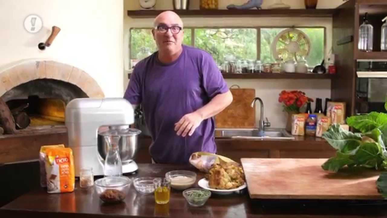מתכוני סוגת: לחם במילוי כרובית צלויה